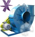 فن سانتریفوژ رادیال - انتقال مواد